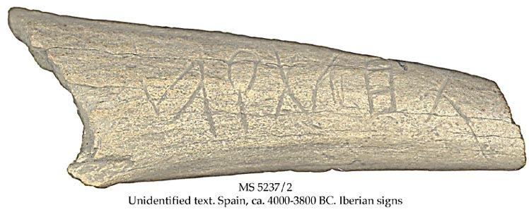 ¿Atlantis y Tartessos en una inscripción con más de 6000 años de antigüedad?