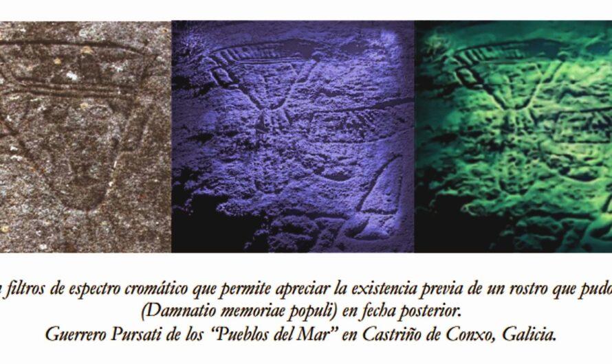 ¿Pueblos del Mar en Iberia? Hipótesis sobre la representación de gente del mar Purasati o Pulasati (pw-ir'-sA-tj) en el Arte Rupestre noroccidental ibérico.