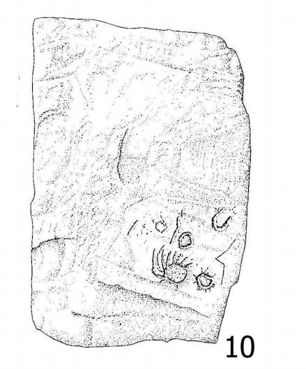 Inscripción sobre megalito de Extremadura, podría confirmar el fenómeno descrito por Manetón de cuando la luna se agrandó de repente en tiempos de la III Dinastía.