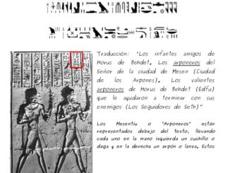 Sobre el supuesto origen extranjero de los Shemesu-Heru y su país en una isla hundida bajo el mar y cómo colonizarían el Antiguo Egipto y su lista de reyes en el Templo de Edfu (Primera Parte).