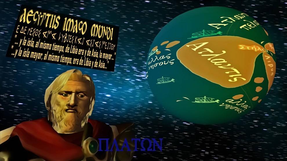 La Atlántida de Platón, según la descripción de los egipcios a Solón