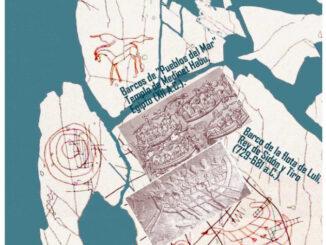 La escena geográfica sobre la Atlántida más antigua de occidente.
