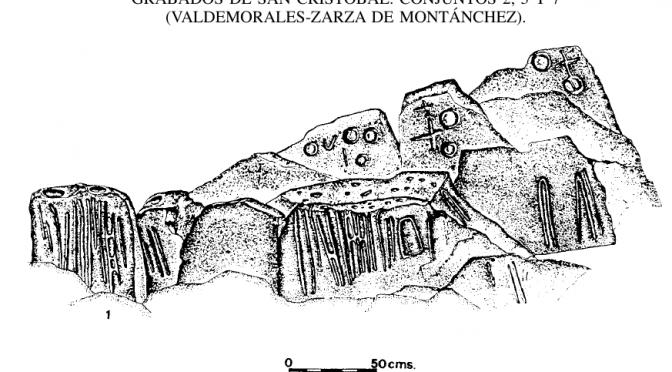 Inscripciones ELA en Sierra de Montánchez, Cáceres