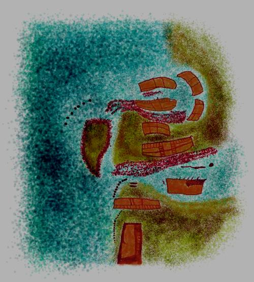 ¿EL MAPA MÁS ANTIGUO DE LA HUMANIDAD?   El que podría ser el mapa náutico-cartográfico más antiguo del mundo sería una representación del occidente de Europa y África con una isla atlántica frente a Iberia, y fue pintado en una cueva del norte de España en tiempos del Paleolítico Superior. Por Georgeos Díaz-Montexano Scientific Atlantology International Society (SAIS)