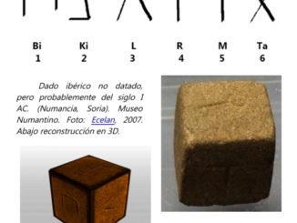 """¿El """"Dado Rosetta"""" de la Lengua Íbera?"""