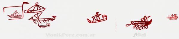 En Iberia se construyeron los primeros barcos a vela del mundo.