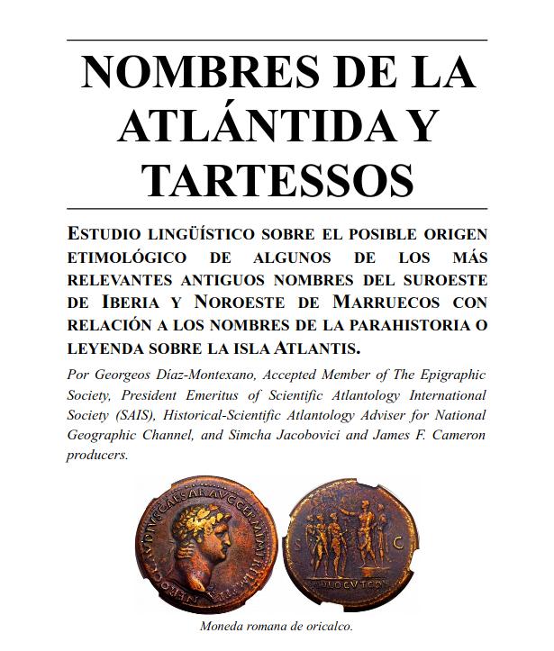 Nombres de la Atlántida y Tartessos