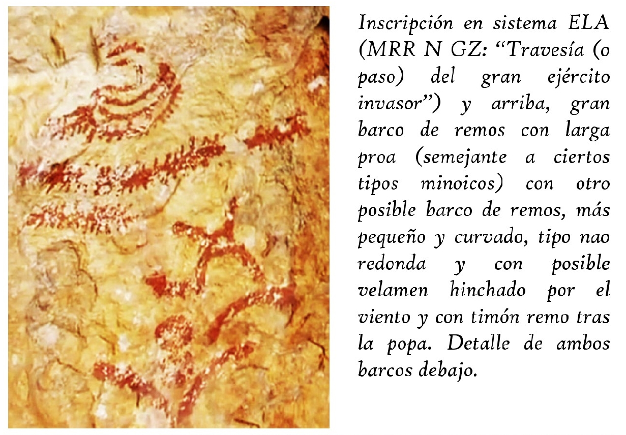 Collado del Guijarral, Segura de la Sierra, Jaén. ¿Una escenificación de la invasión de los Atlantes?