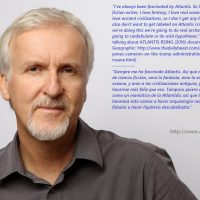 James Cameron talking about Atlantis Rising. Habla del documental que él ha producido en exclusiva para National Geographic y que ha filmado y dirigido Simcha Jacobovici con la participación de Georgeos Díaz-Montexano como Historical-Scientific Atlantology Adviser.