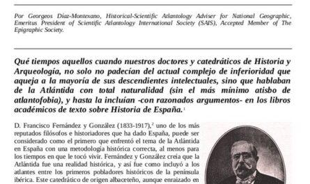 Atlantología histórica en España - D. Francisco Fernández y González.
