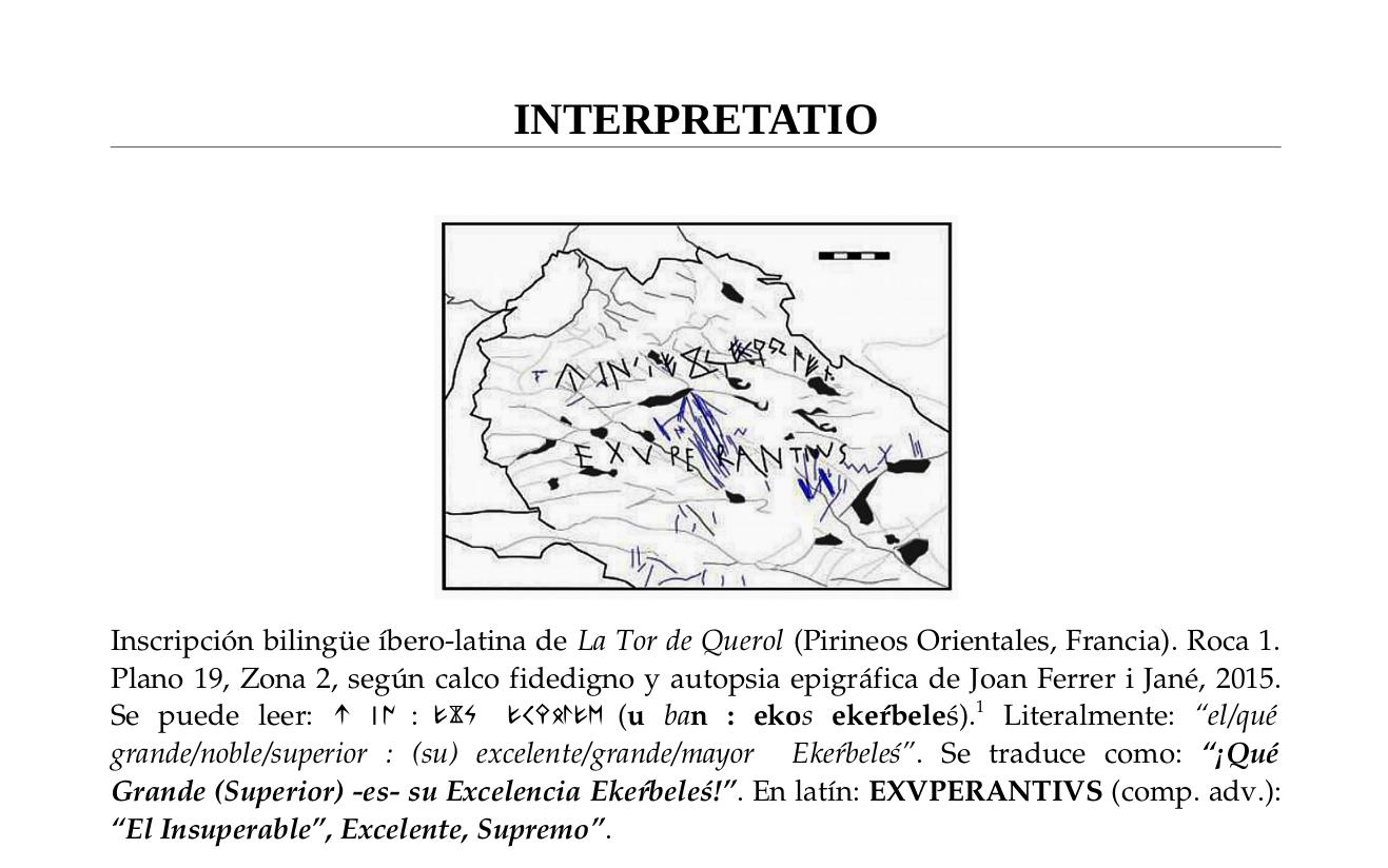Nueva inscripción bilingüe íbero-latina podría soportar la teoría Íbero-Altaico/Túrquica.