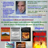 """Super Oferta """"Pack de los 6 mejores libros de Georgeos Díaz-Montexano"""" por el precio de uno."""
