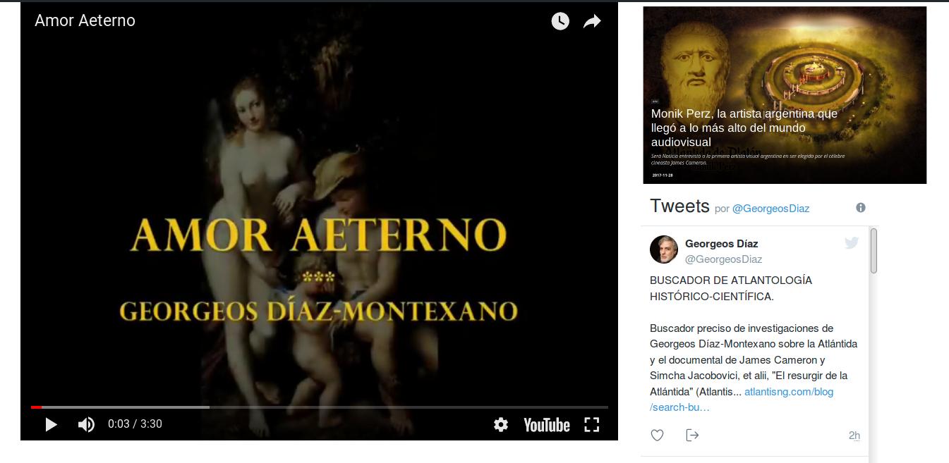 Amor Aeterno – ATLANTIS NG El libro de Georgeos Díaz-Montexano. Tags: Monik, Georgeos