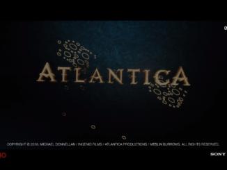 Lucios artificiales construidos en Doñana entre 2004 y 2005 confundidos como restos de la Atlántida y usados como logo del mismo documental italo-británico ATLANTICA de Michael Donnellan.