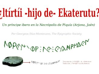 ¿ltírtíi -hijo de- Ekaterutu? Un príncipe ibero en la Necrópolis de Piquía (Arjona, Jaén).