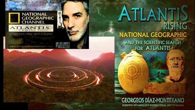 """""""El resurgir de la Atlántida (Atlantis Rising)"""". Documental de James Cameron para National Geographic sobre la teoría de Georgeos Díaz-Montexano."""