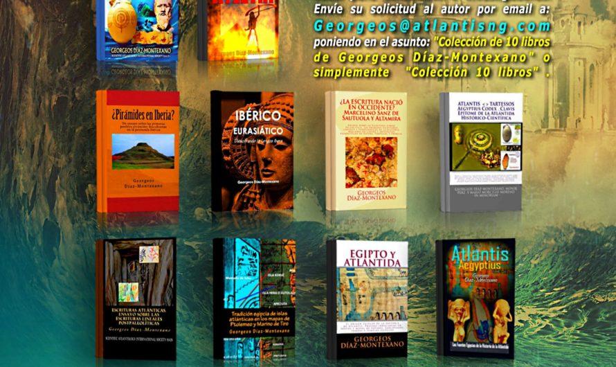 ¡Colección 10 libros de Georgeos Díaz-Montexano ahora por solo 39 Euros!