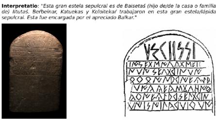 La hipótesis transeurasiático-caucasiana del ibérico seltar como término funerario para lápida sepulcral.