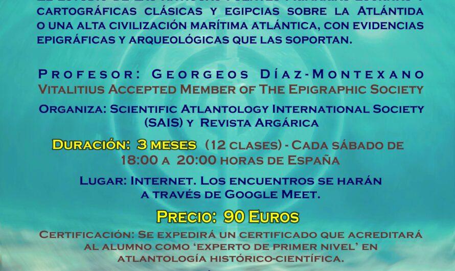 CURSO PERMANENTE – Atlantología Histórico-Científica. Nivel I – CURSO ONLINE.